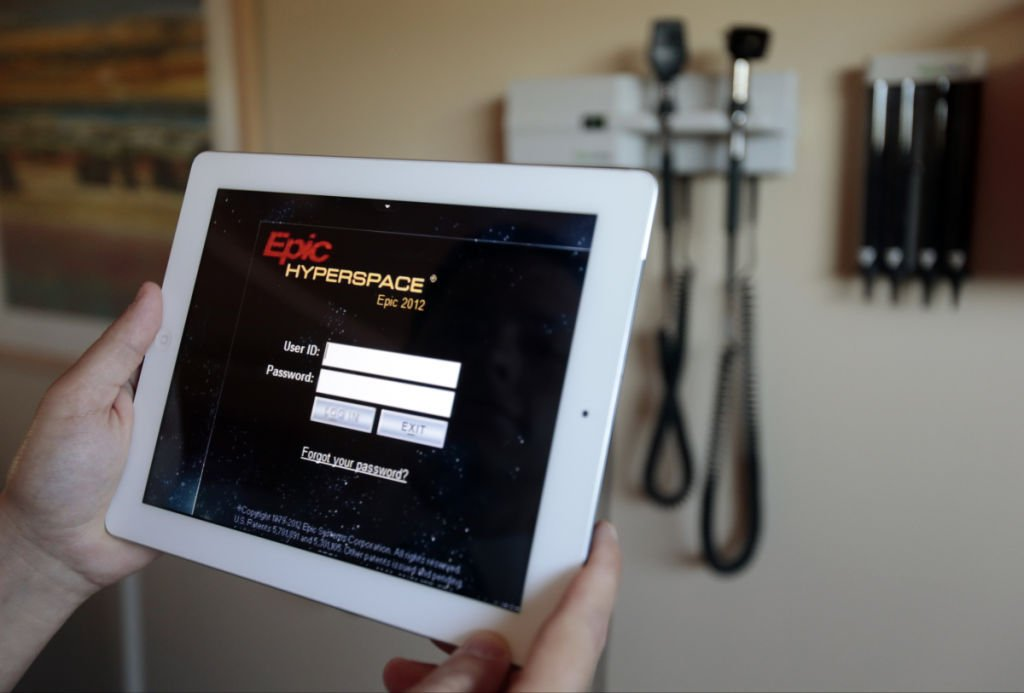 Epic Systems software, State Journal photo
