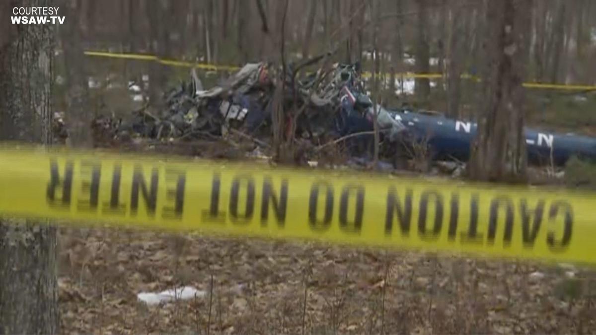 Medical helicopter crash