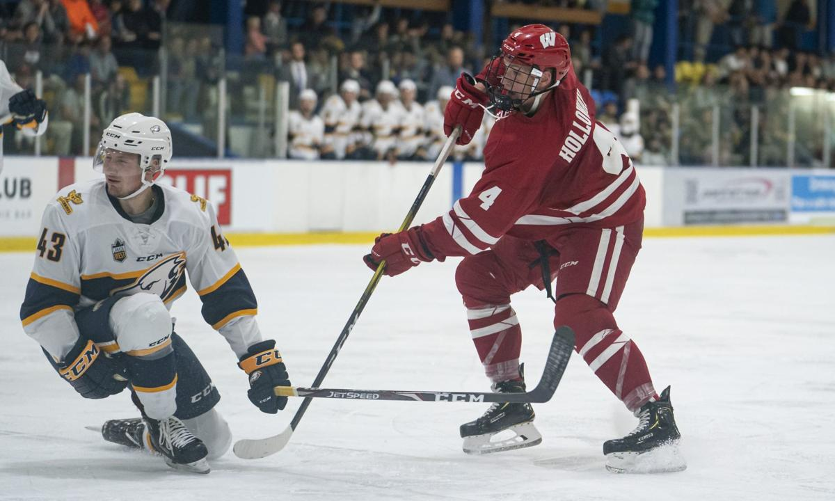 buy online a3438 b50a5 Three takeaways from Wisconsin Badgers men's hockey's early ...