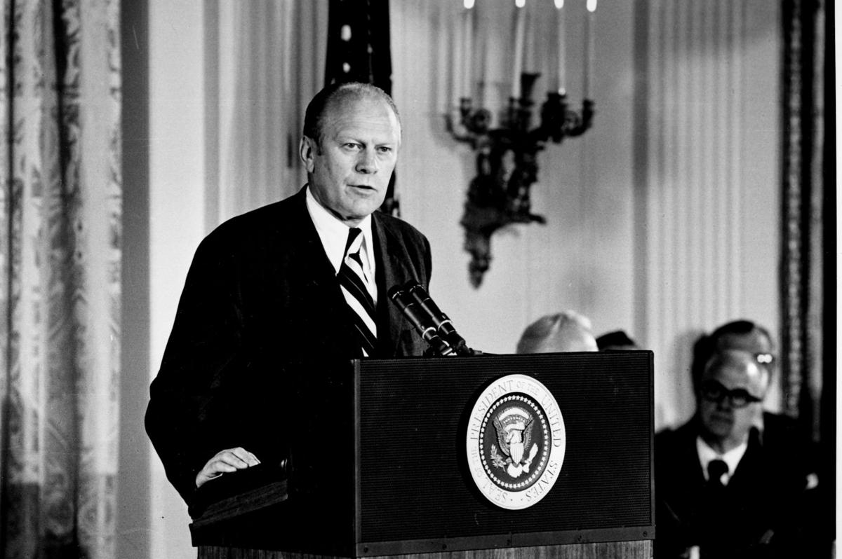 an overview of the decision of president gerald r ford to fully pardon former president richard nixo Richard nixon was elected the 37th president of the united states (1969-1974) after previously serving as a us representative and a us senator from california after successfully ending.