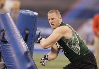 JJ Watt, NFL Scouting Combine