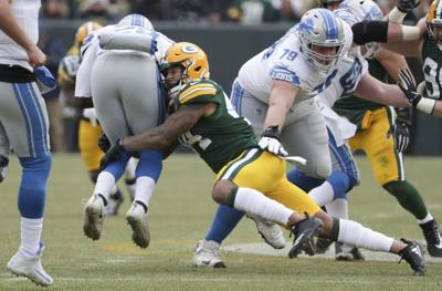 Packers-Lions - Antonio Morrison