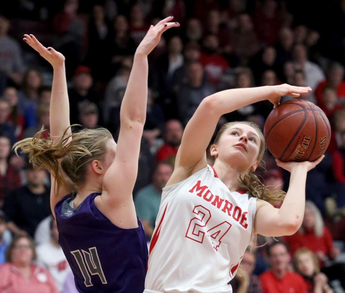 Girls Basketball State Playoffs Open For Handful Of: Monroe Relishes Return To The Resch Center For The WIAA