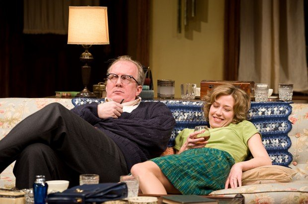 Tracy Letts and Carrie Coon in Who's Afraid of Virginia Woolf?