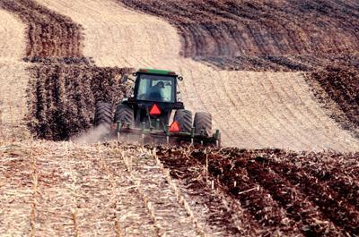 Wisconsin farm field