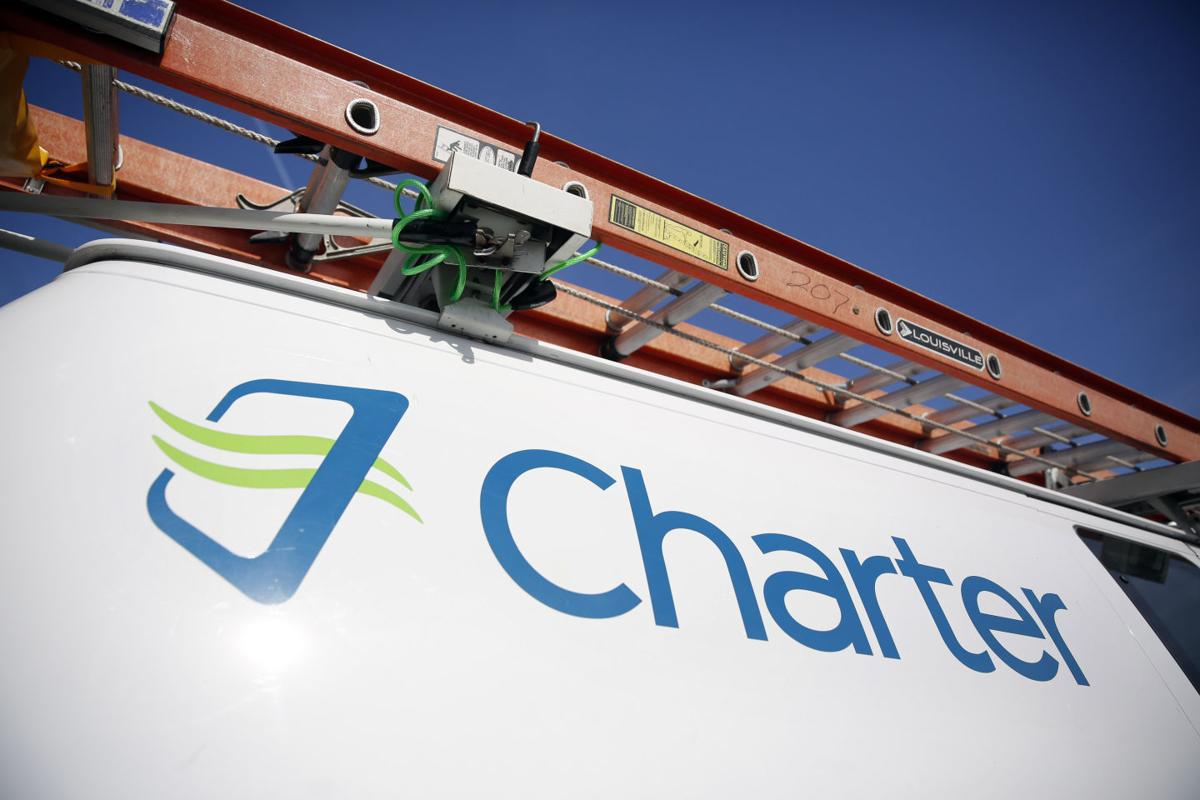 Charter Communications truck, AP photo (copy)