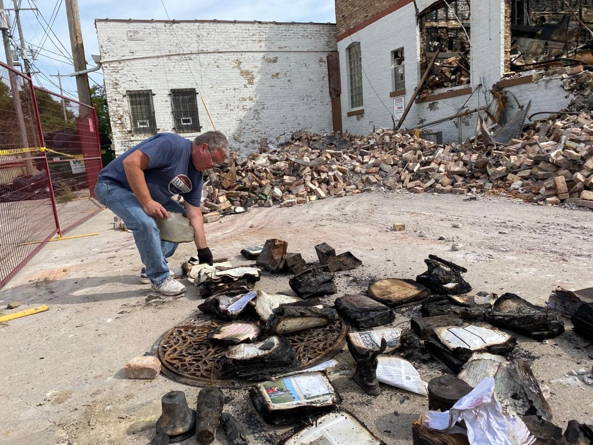 Sifting through the rubble