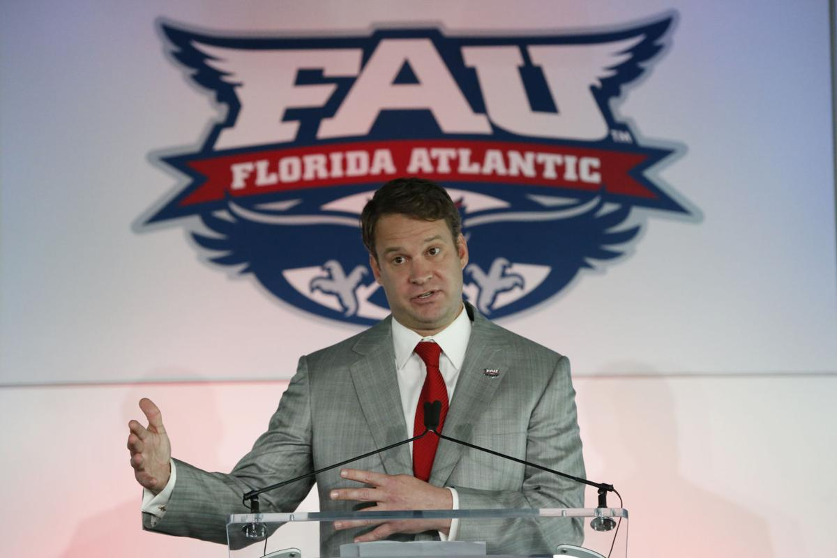Florida Atlantic Kiffin Football