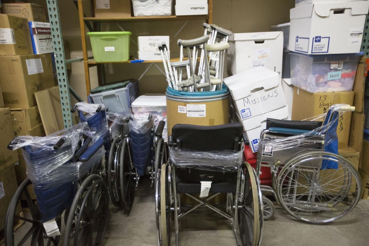Nonprofits repurpose excess medical supplies and equipment