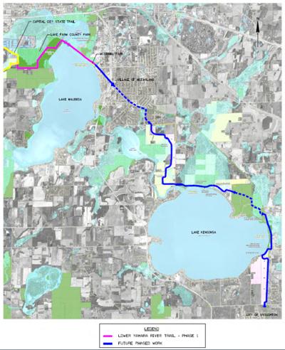 Yahara trail future phases