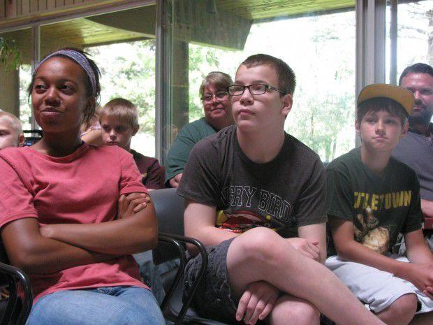 Audience members take in LeRoy Butler talk