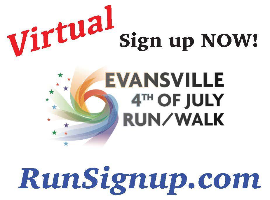 Evansville VIRTUAL 4th of July Run/Walk