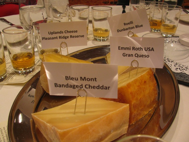 Cheese and Scotch pairing -- cheeses