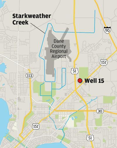 Starkweather Creek Map
