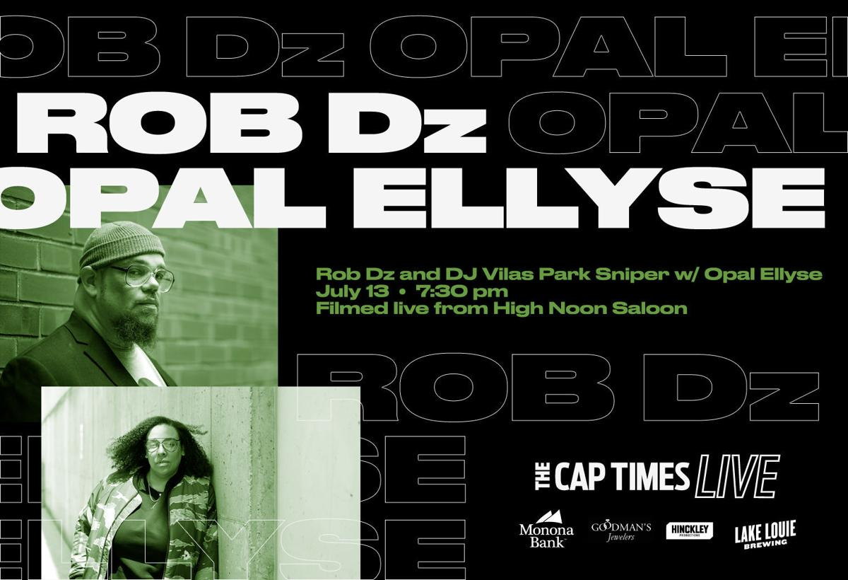 Cap Times Live featuring Rob Dz with Opal Ellyse
