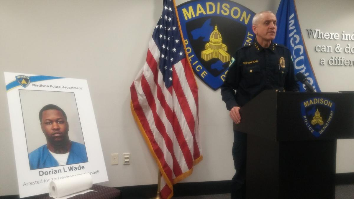 Chief Mike Koval speaks about assault