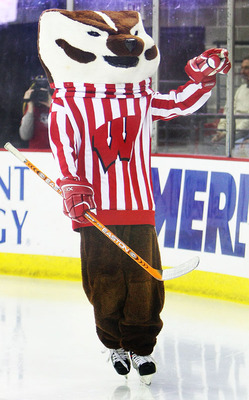 Just Ask Us Does Bucky Still Skate At Hockey Games Just Ask Us