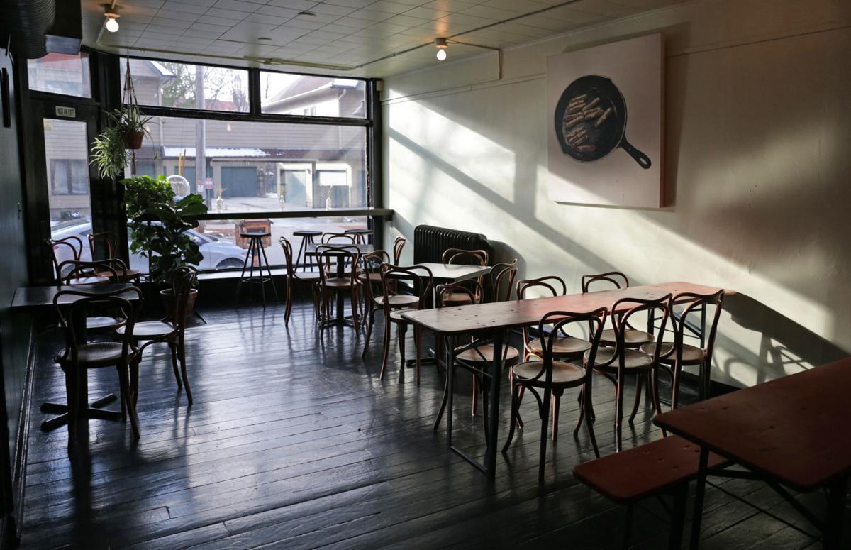 Underground residency dining room