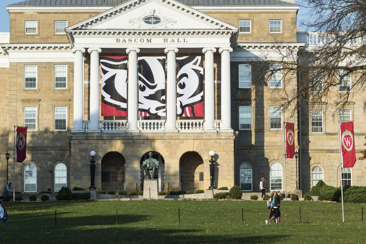 Bascom Hall, UW-Madison generic file photo