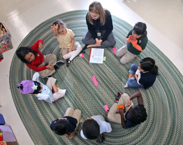 Kindergartners at Lighthouse Christian School (copy)