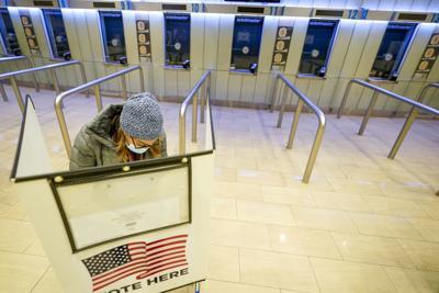 Election 2020 New York Voting (copy)