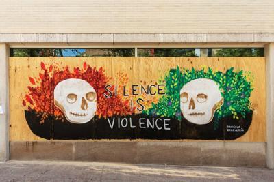 Daniella Echeverria mural