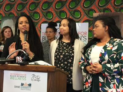 Black infant health news conference