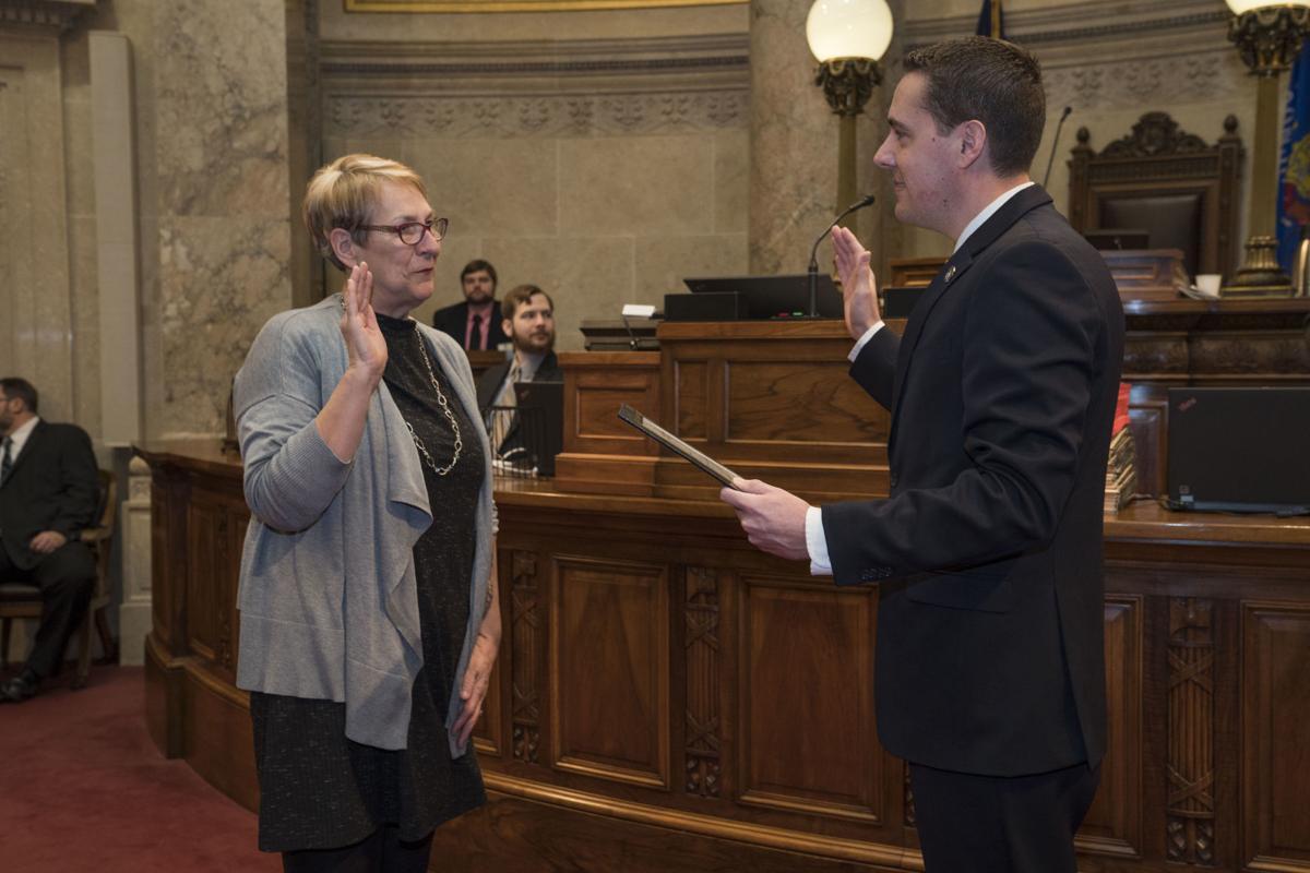 Sen. Patty Schachtner sworn in