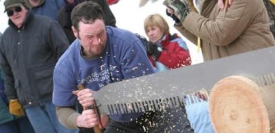 Klondike Days, lumberjack