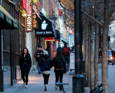State Street pedestrians