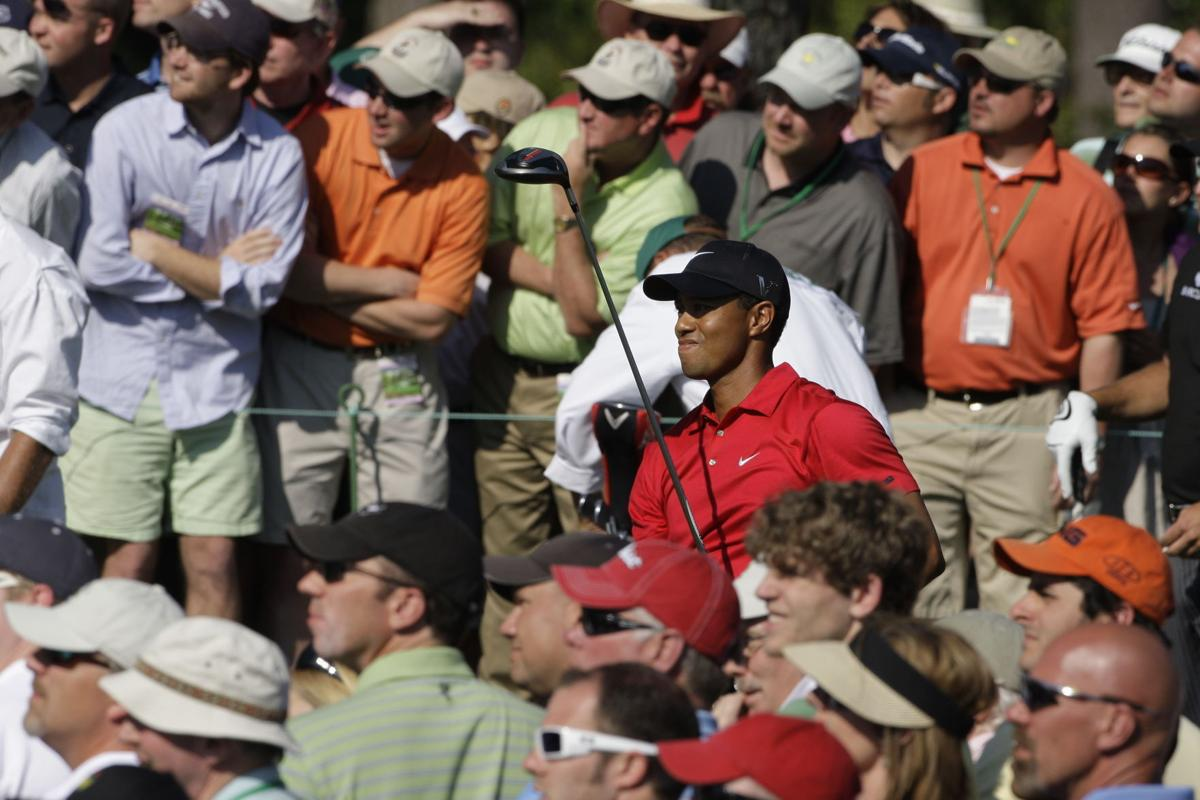 Tiger Woods, Masters galleries, AP generic file photo