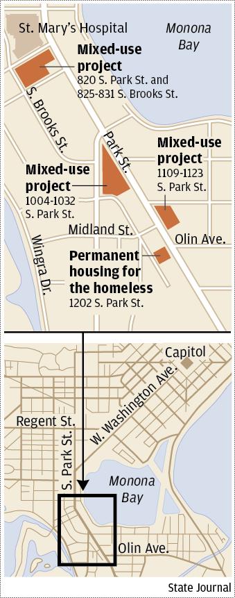 Park Street development map