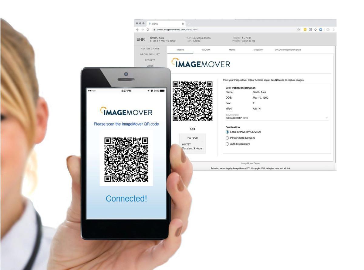ImageMover display