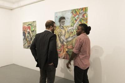 Mmocas Exhibit Of Significant Art Of >> At East Side Gallery Bridge Work Show Of New Artists Aims To Keep
