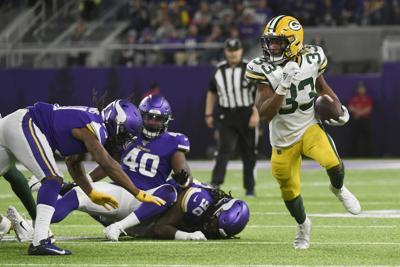 Aaron Jones - Packers Vikings