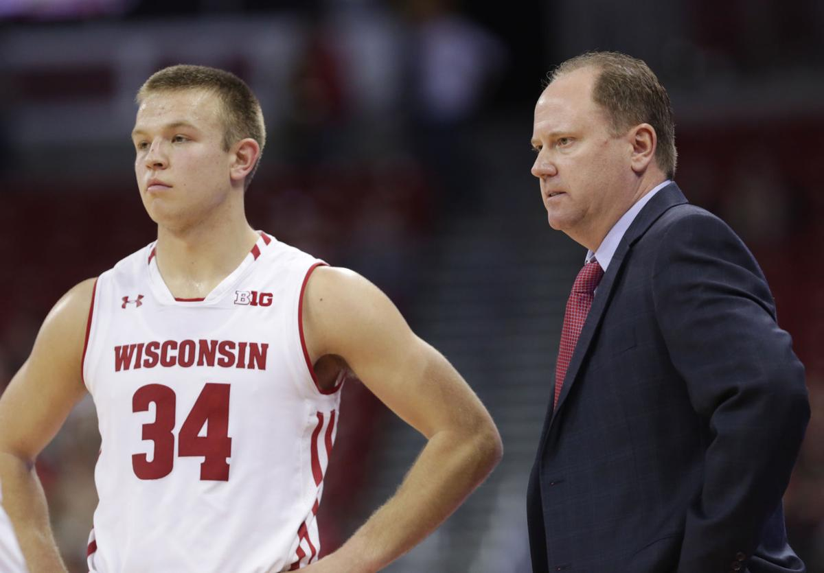 0a9409ff3e4 Badgers men s basketball  Follow live postgame coverage as Wisconsin falls  to Rutgers 64-60