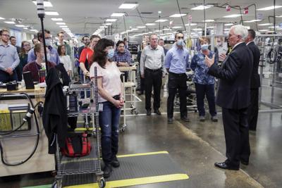 Pence visits Madison