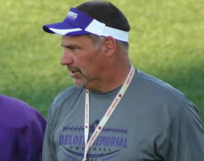 Photo of first-year Beloit Memorial football coach Rodney Wedig