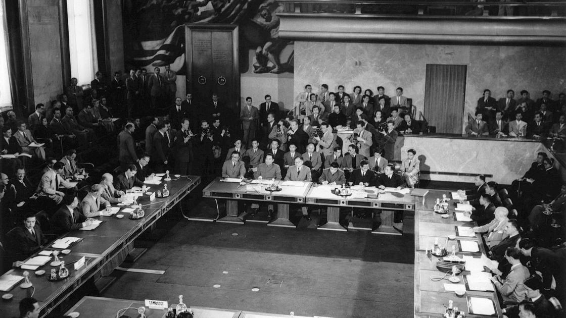 1954 Geneva Accords Madison