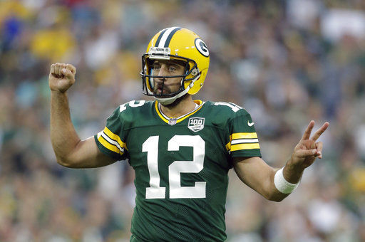 Aaron Rodgers, AP generic file photo good for web