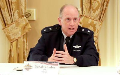 Wisconsin National Guard Major General Donald P. Dunbar