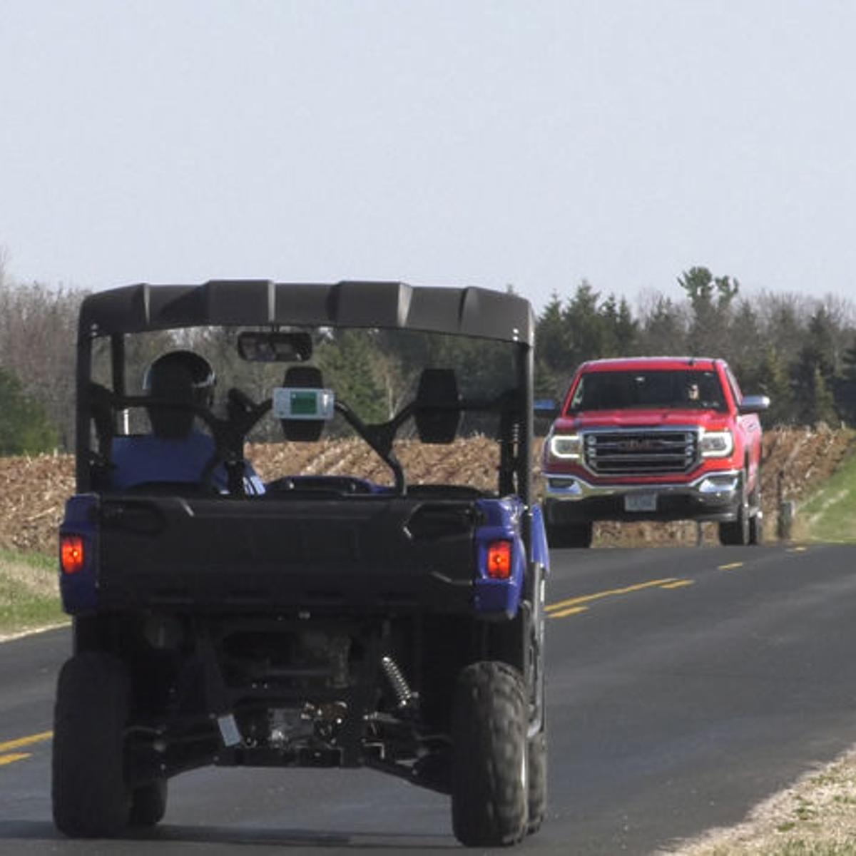 Off-road vehicles could be on road, thanks to change in