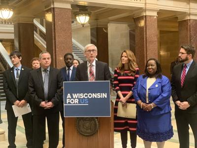 Evers marijuana press conference