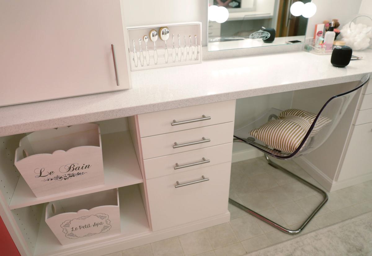 Glam room storage