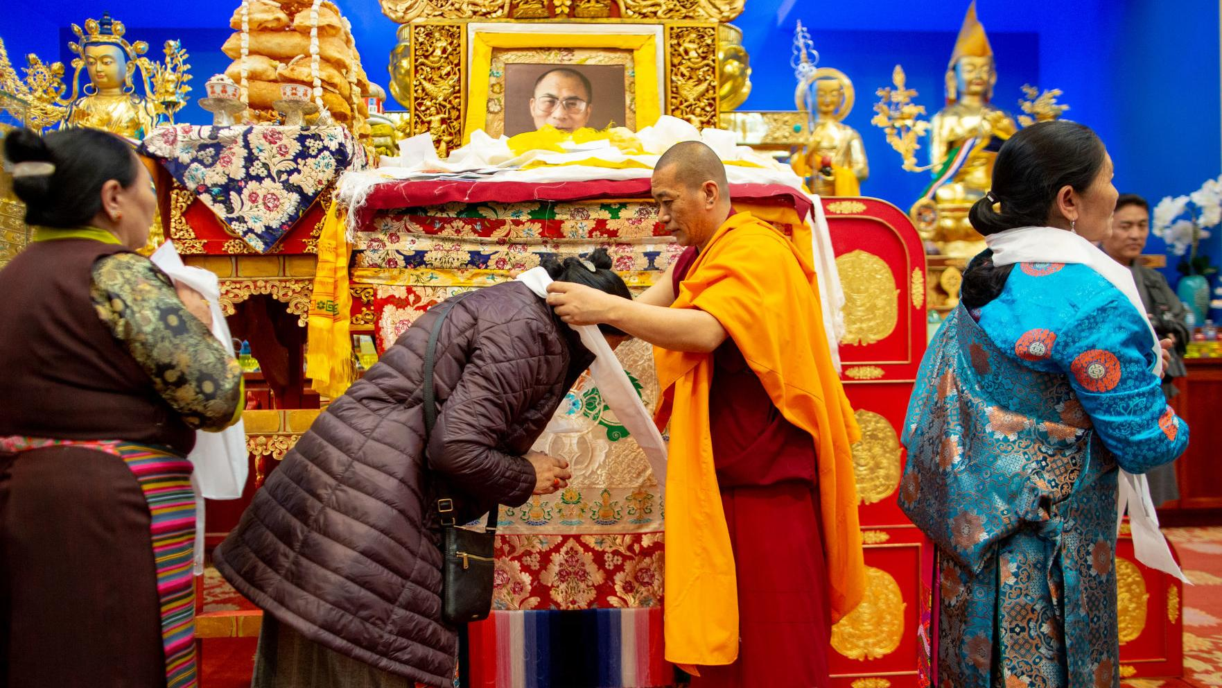 Scenes from a Tibetan New Year celebration
