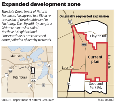 Fitchburg development map revised