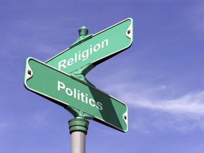 politics and religion intersection