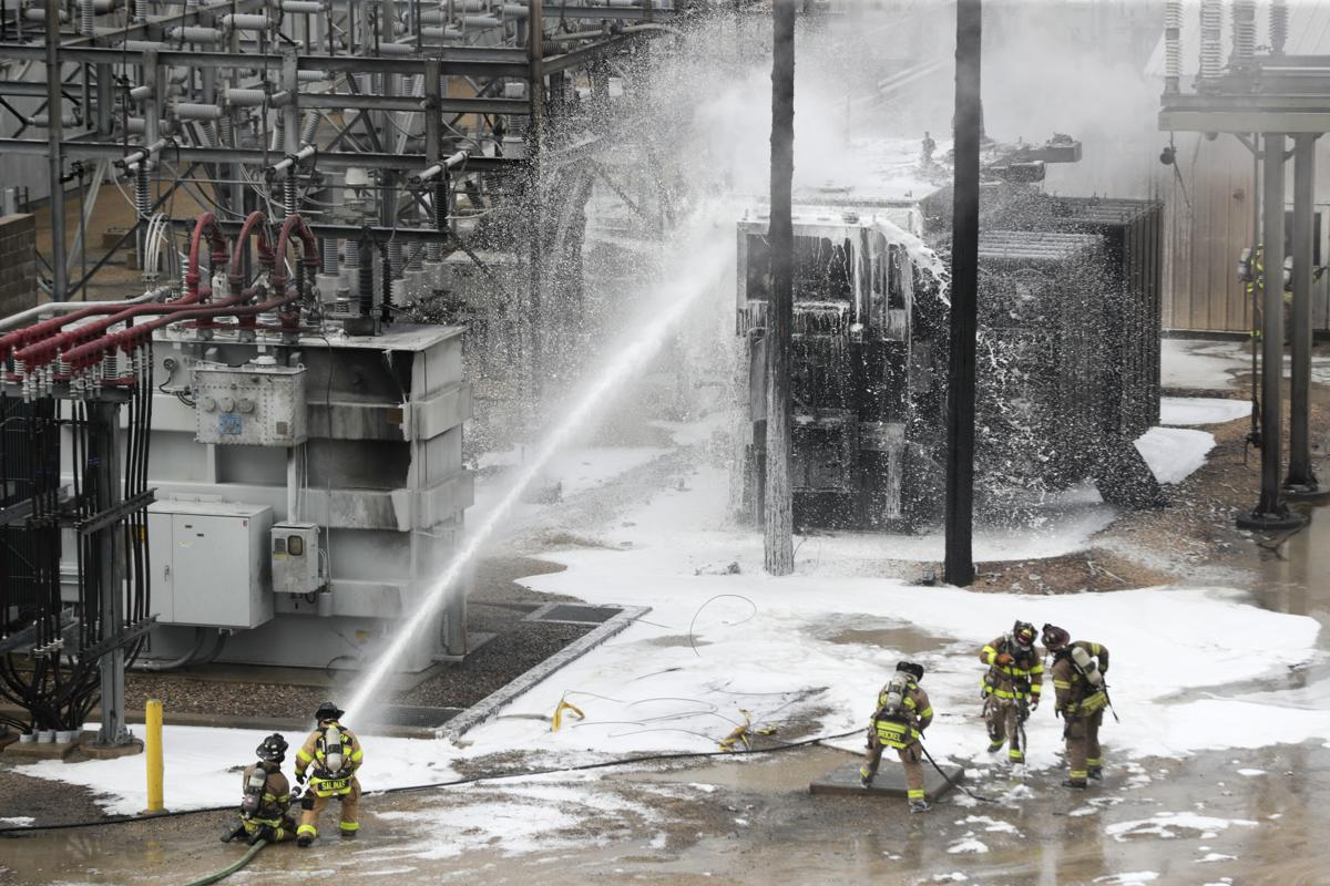 Firefighters battle blaze and explosion Downtown