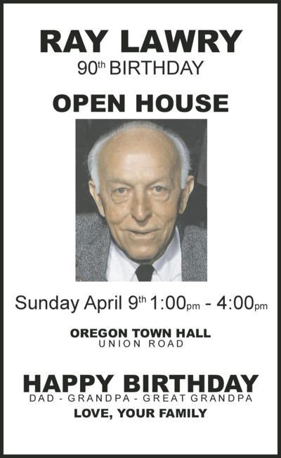 90th Birthday Open House