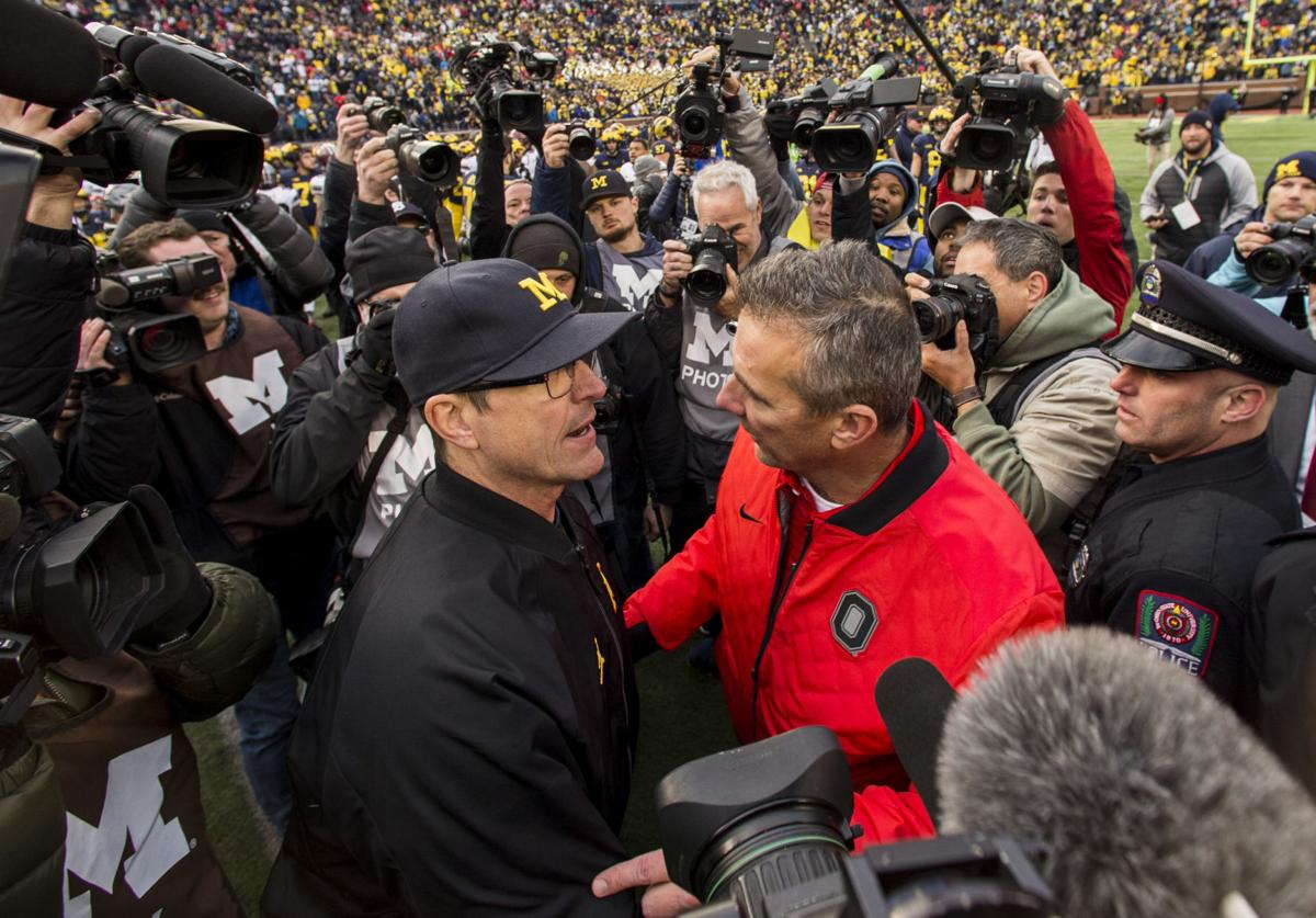 Jim Harbaugh - Michigan vs. Ohio State